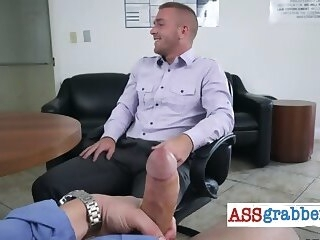 office Gayporn hunks